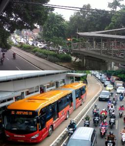 1.Traffic in Jakarta