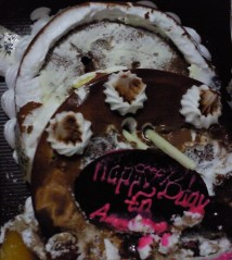 4. Broken Ice cream Cake