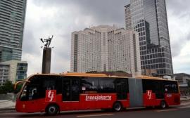 Busway Bus gandeng1